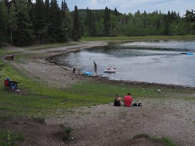 Sibald Lake Potluck on Canada Day