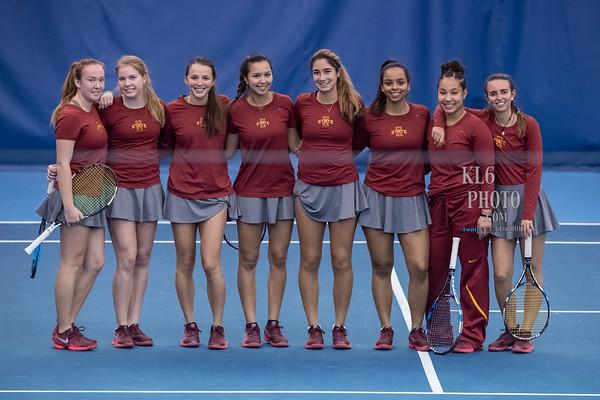 ISU Tennis vs Augustana 01/27/18