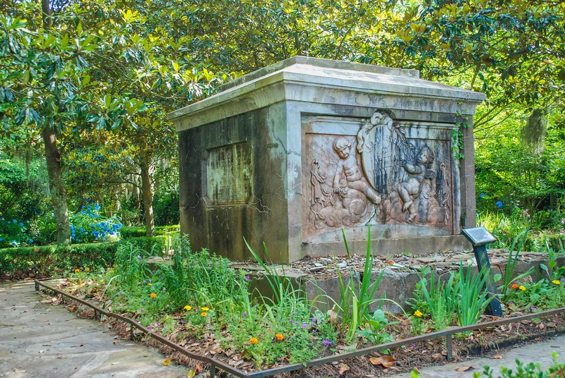 Drayton Tomb at Magnolia Gardens