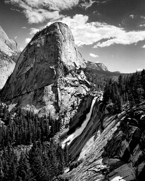 Nevada Falls, Yosemite National Park ~ July 2005