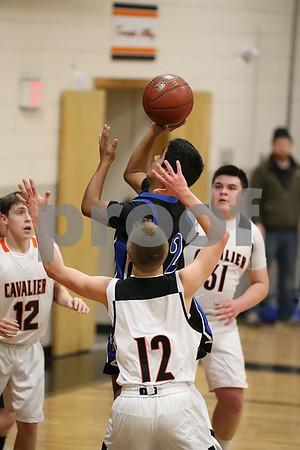 2019 Boys Basketball action