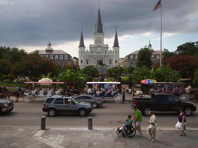 Mississippi and Louisiana