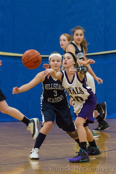 2016-01-11 Girl's Junior High Basketball vs. Jackson Christian