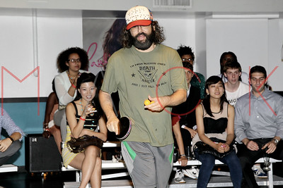New York, NY - June 27:  The 2012 VERSUS Celebrity Ping Pong tournament, New York, USA.