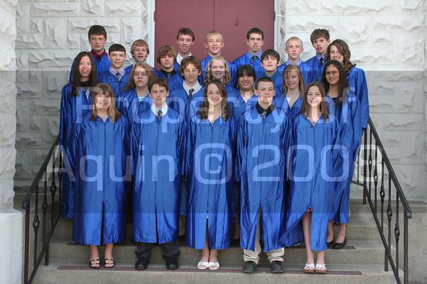 8th grade graduation 5.24.08