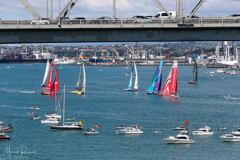 Auckland Stopover. The New Zealand Herald In-Port Race. 10 March, 2018.