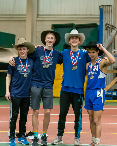 Vermont Division II Indoor Track State Championships - UVM Gutterson Field House - 2/16/2020