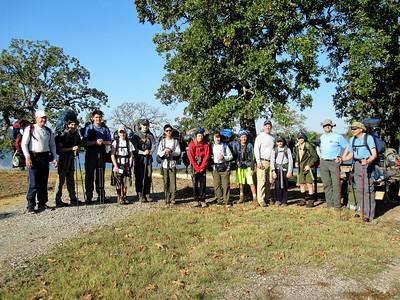 Backpacking at Juniper Point Park -Nov 2016