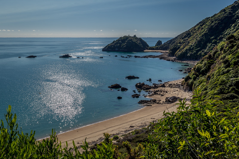 An der «Wainui Bay»