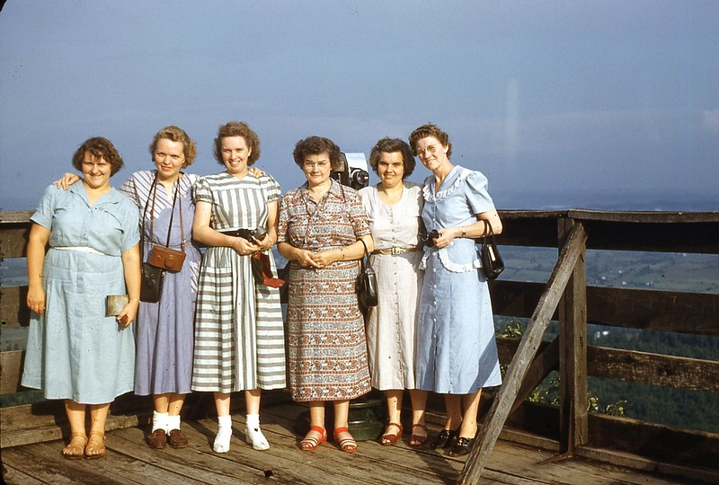 1949 Friends Visiting Fern Lake, Ky