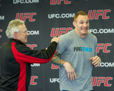 UFC Calgary Open Workout