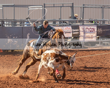 Friday - 5th & Under - Team Roping Heeling