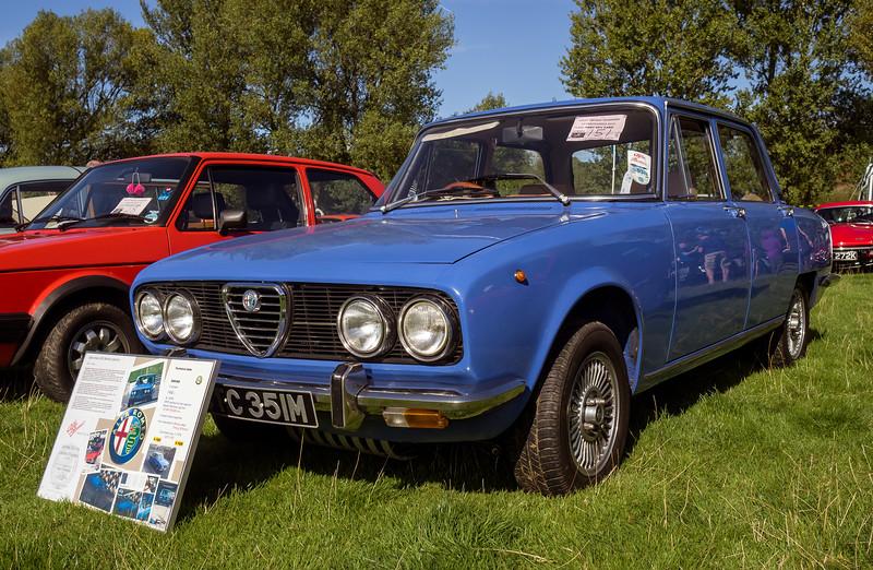 1973 Alfa Romeo 2000 Berlina Injection