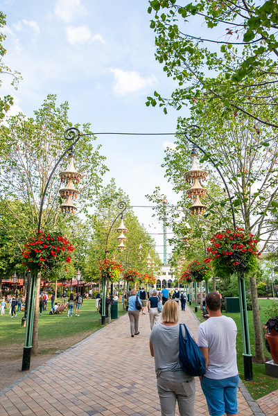Tivoli Gardens - Walkway