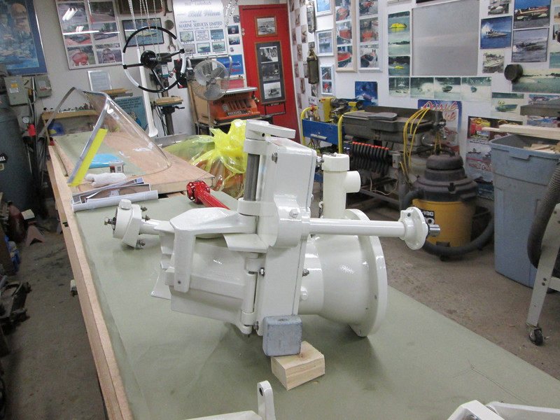 Another view of assembled pump nozzel.