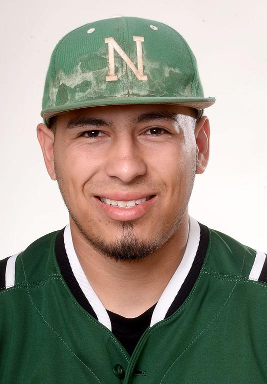 . Erik Gonzalez of Nogales High School baseball Tuesday, June 4, 2013. (SGVN/Staff Photo by Sarah Reingewirtz)