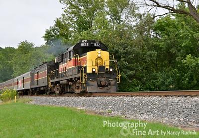 Cuyahoga Scenic Railroad - August 2012
