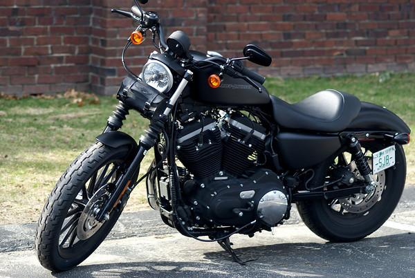 Harley Davidson just arrived, 2010 Black Iron 883