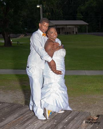 donte & charlene wedding 2021