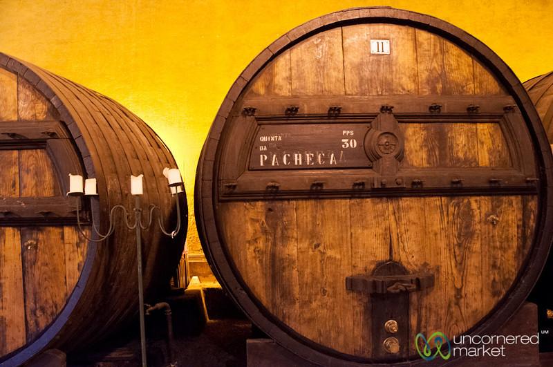 Port in Barrels at Quinta de Pacheca - Douro Valley, Portugal