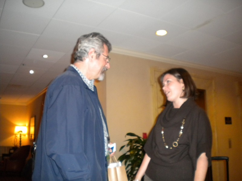 CA Chapter President Phil Kass and Executive Director Nicole Emard