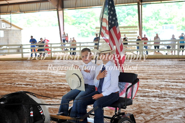 OPENING CEREMONIES- CANDIDS-WALLACE MESSER RECOGNITION