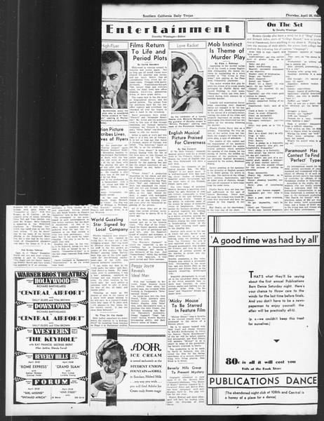 Daily Trojan, Vol. 24, No. 127, April 20, 1933