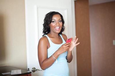 Chantal Getting Ready