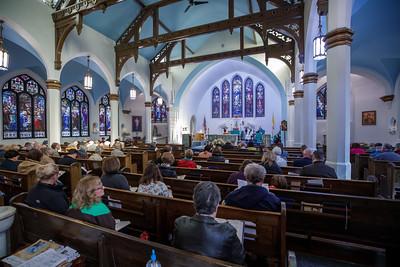 2018 Archbishop Visit - Saint Martin of Tours Parish (Norfolk CT)