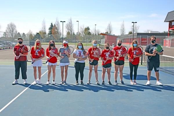 SHS JV Girls Tennis 2021
