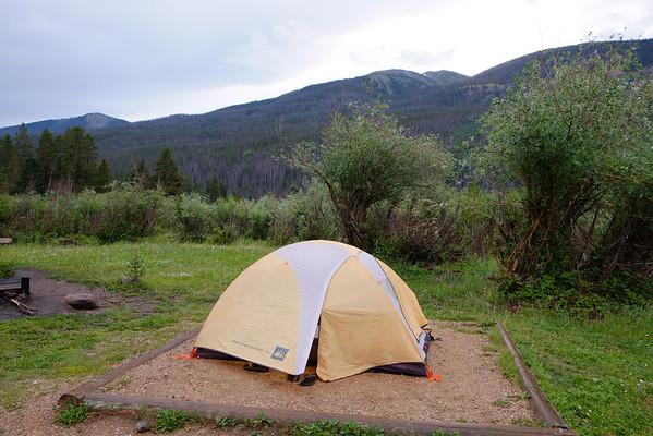 Backpacking Never Summer Wilderness Area