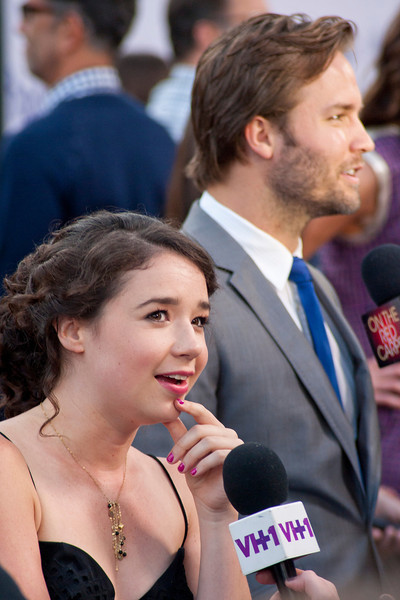 LOS ANGELES, CA - JULY 23: Actress Sarah Steele arrives at the CBS Films 'The To Do List' at Regency Bruin Theatre on Tuesday, July 23, 2013 in Los Angeles, California. (Photo by Tom Sorensen/Moovieboy Pictures)