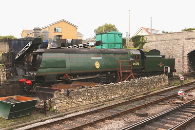 Unrebuilt Bulleid Light Pacifics