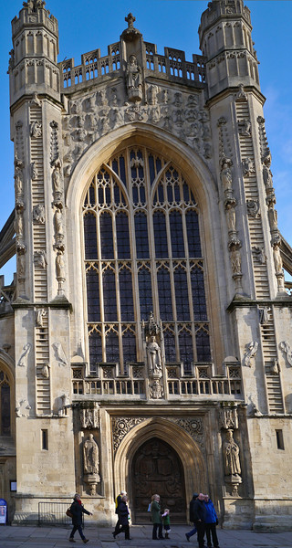 Bath Abbey panorama
