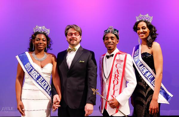 Mr. Ms. Mrs. Black North Carolina Competition 2015