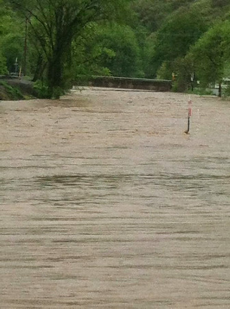 Elk County flood May 2014