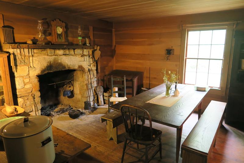 Biltmore Campus Trail -- Ranger's Dwelling (interior)