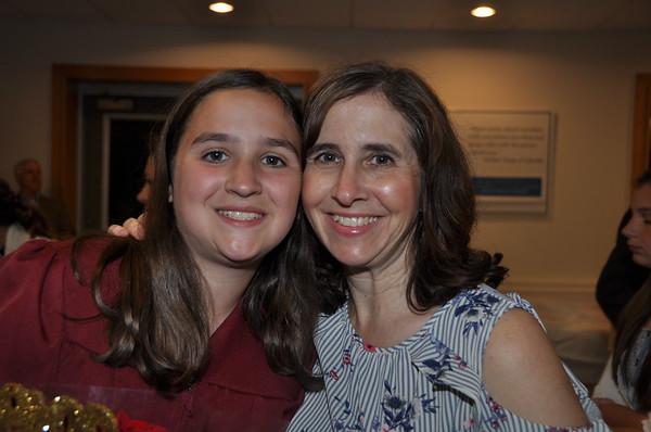 Melissa's 8th grade graduation