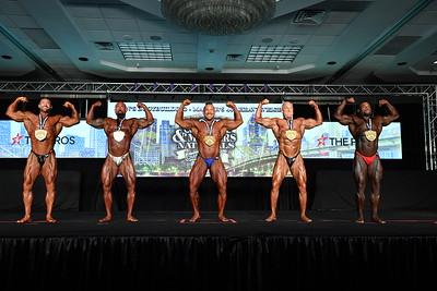 Men's Bodybuilding Masters 40+ HW