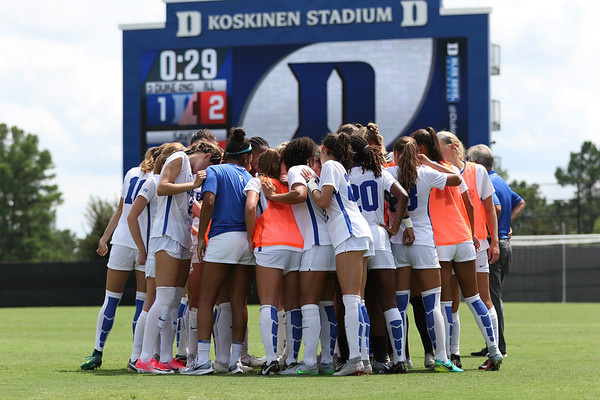 Duke Women's Soccer vs Illinois 8/19/18