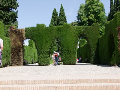 Alhambra - Gardins and Castle