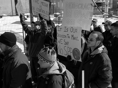 Protest for SPP Referendum