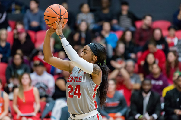 2017 Seattle U Women's Basketball vs UTRGV