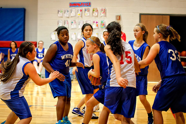 WMS girls 6th vs. West Noble