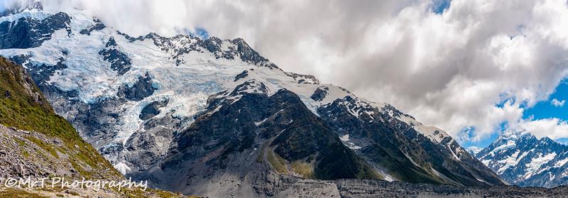 Hooker glacier Mt Cook National Park