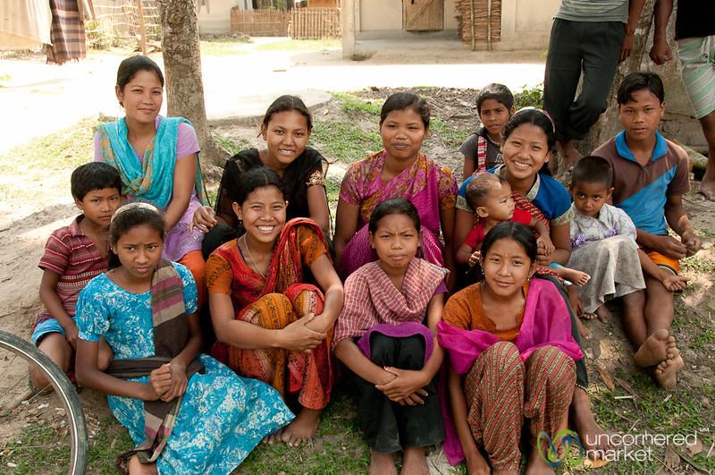 Garo Kids Gather Together - Srimongal, Bangladesh