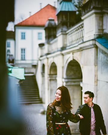 Jane & Leo  [honeymoon]