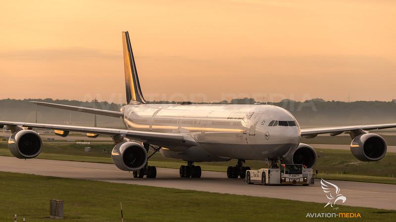 Lufthansa / Airbus A340-642 / D-AIHA
