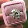 1.99ctw Vintage Old Mine Cut Bypass Ring 8
