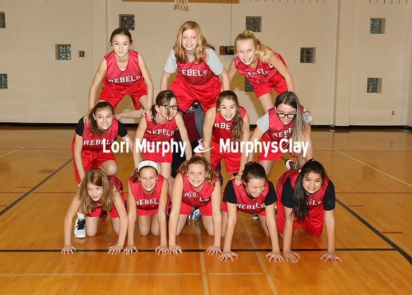 SNMS Girls Basketball 6th Grade Team 2016